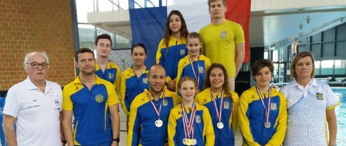 Championnats de France hiver de Plongeon Jeunes et Elite