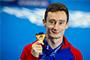Benjamin AUFFRET bronze à 10m aux Championnats d'Europe de plongeon