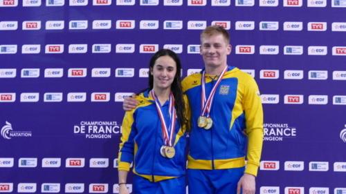 Maïssam et Loïs Champions à 10m en Elite